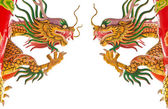 Two Chinese dragons — Stock Photo