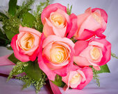 Bouquet of rose flowers — Stock Photo