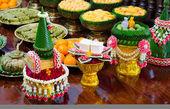 Thai garland and sweet — Stock Photo