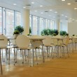 Cafeteria interior — Stock Photo