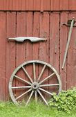 Old farm implements — Stock Photo