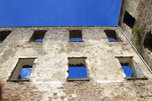 Borgholm castle ruins — Stock Photo