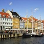 Copenhagen, Nyhavn — Stock Photo