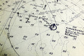 Charting Course — Stock Photo