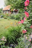 Idyllic summer house — Stock Photo