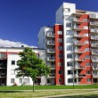 Foto Stock: Apartment Block