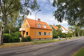 Swedish middle class home — Stock Photo