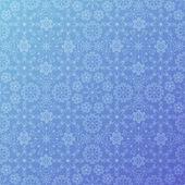 Modrý sníh vzor — Stock vektor
