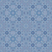 Blue snow pattern — Stockvector