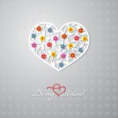 私のバレンタインになります。 — ストックベクタ
