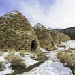 Charcoal Kilns in Death Valley — Stock Photo