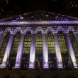 New York Stock Exchange by Night — Foto Stock #41002147