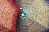 Ručně vyráběné deštníky — Stock fotografie