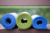 Yoga mats — Stock Photo