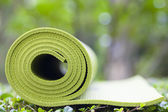 Yoga mat — Foto de Stock