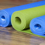 Yoga mats — Stock Photo #49143977
