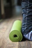 циновка йоги — Стоковое фото