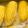 Corn boiling in pot — Stock Photo #35192511