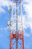 Tower communication — Stock Photo