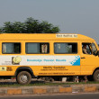 Stock Photo: School Bus in Pune City
