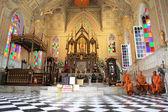 Wat Niwet Thammaprawat Gothic Temple — Stock Photo