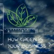 How green is your business? — Stockfoto
