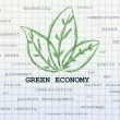 Stock Photo: Green economy taking over other business concepts