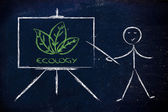 Learn about ecology — Stock Photo