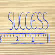 Measure your success — Stock Photo