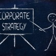 Learn about corporate strategy — Stock Photo