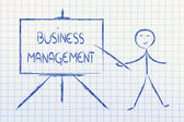 Learn about business management — Stock Photo
