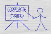 Learn about corporate strategy — Foto de Stock