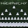 Stock Photo: Leadership, management and hierarchy