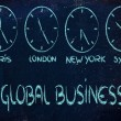 Time and project management for the global business — Stok fotoğraf