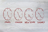 Time and project management for the global business — Photo
