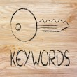 Keywords, searches and internet — Stock Photo #36448083