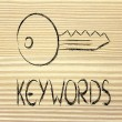 Keywords, searches and internet — Stock Photo #36448085