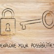 Foto de Stock  : Unlock your potential
