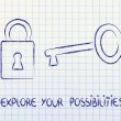 Unlock your potential — Stok Fotoğraf #39788153