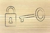 Unlock your potential — Stock Photo