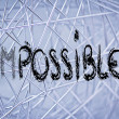 Possible or impossible? — Stock Photo