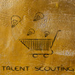 Постер, плакат: Talent scouting
