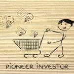 Pioneer investor — Stock Photo #45325753