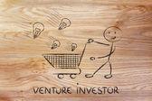 风险投资者 — 图库照片