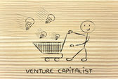 Venture capitalist — Stock Photo