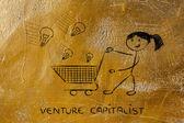 Venture capitalist — Stock Photo