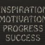 Inspiration, motivation, progress, success writing with glowing — Stock Photo #46491657