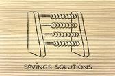 Saving solutions — Stock Photo