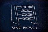 Ušetřit peníze — Stock fotografie