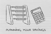 Planning your savings — Stock Photo